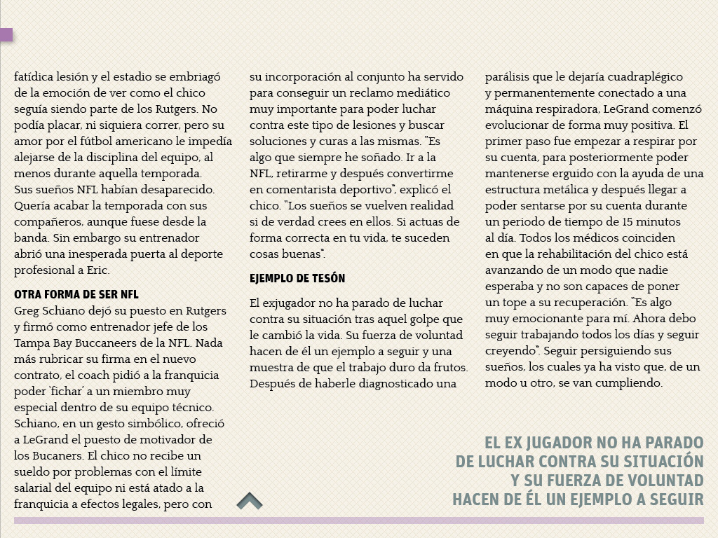 SUEÑOS CUMPLIDOS ERIC LEGRAND
