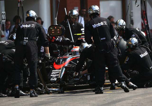 Mclaren Honda F1