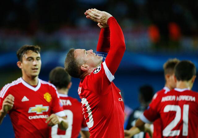 Wayne Rooney celebra su gol