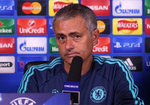 Jose Mourinho con el Chelsea
