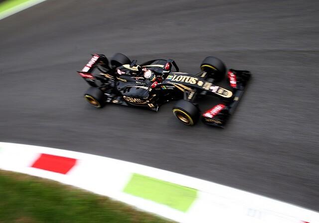 Lotus en el GP de Italia