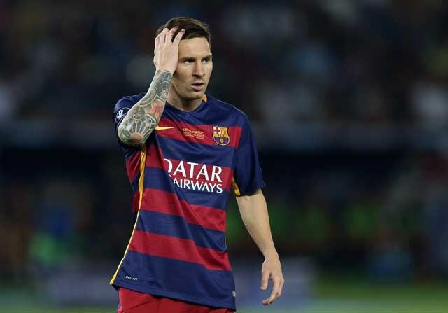 Lionel Messi no se entrena con el Barsa