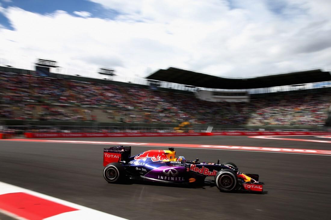 Daniel Ricciardo en el GP de México