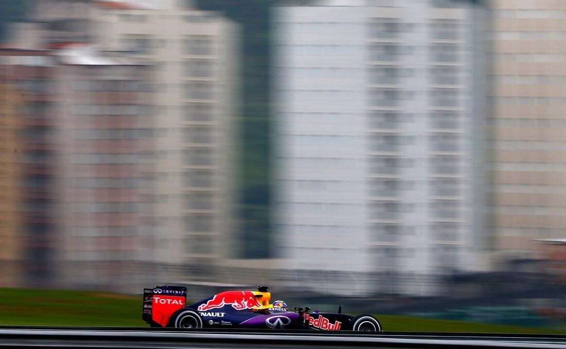 Daniel Ricciardo en el GP de Brasil