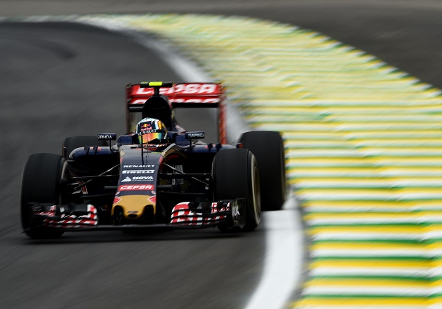 Carlos Sainz en los libres del GP de Brasil