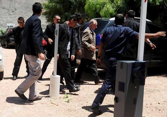 Eugenio Figueredo, en prisión