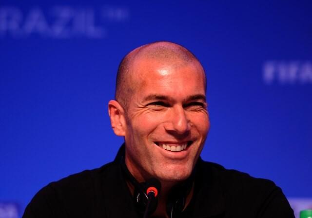 Zinedine Zidane reagetton