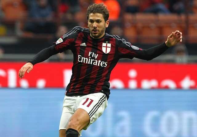 Alessio Cerci, en un partido con el Milan