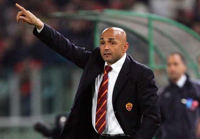 Luciano Spalletti, en su primera etapa como entrenador de la Roma
