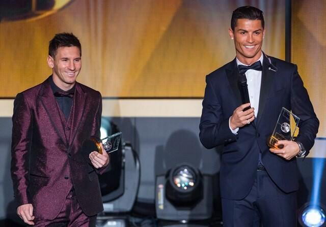 Messi Cristiano Balon Oro