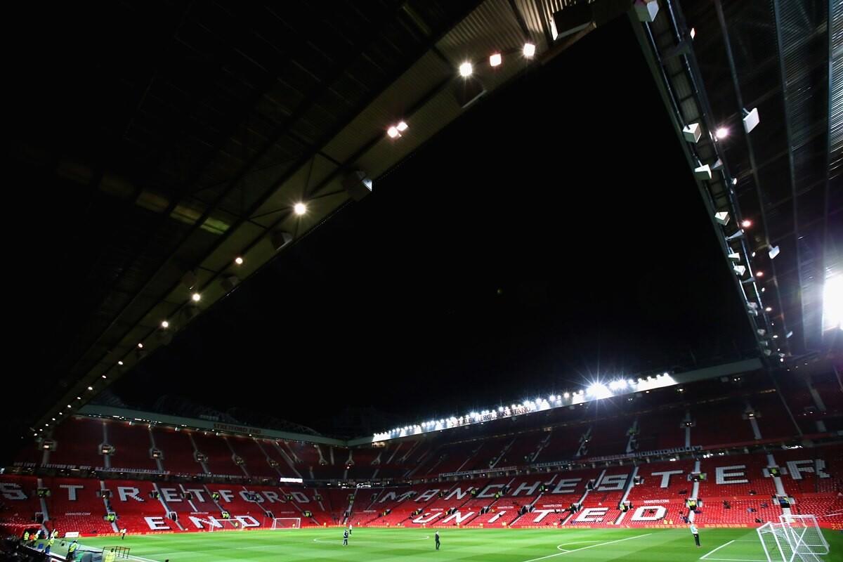 El United cierra una grada en Old Trafford
