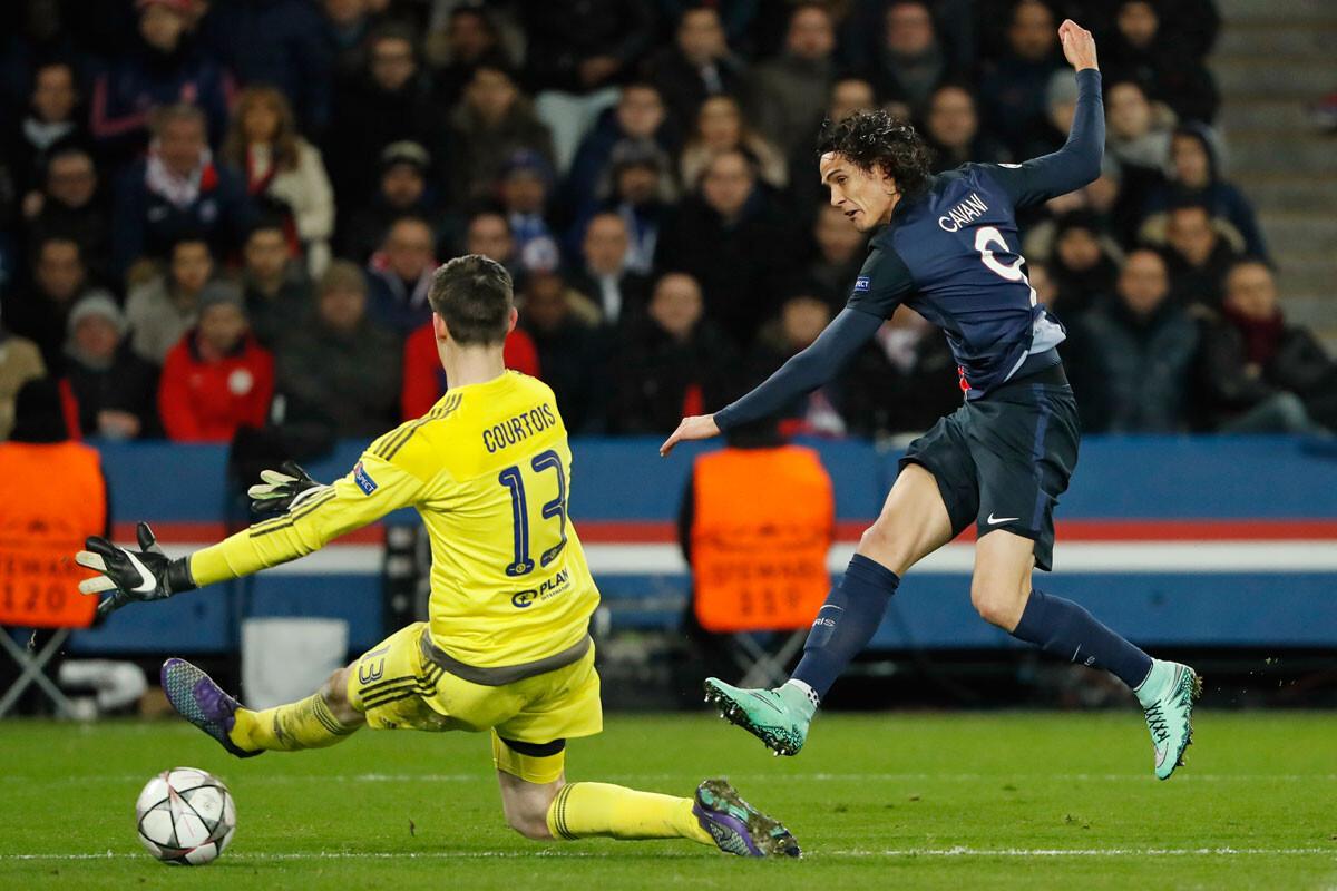 Cavani marca al Chelsea