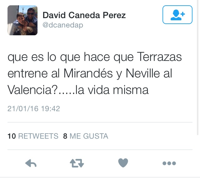 Tuit de David Caneda
