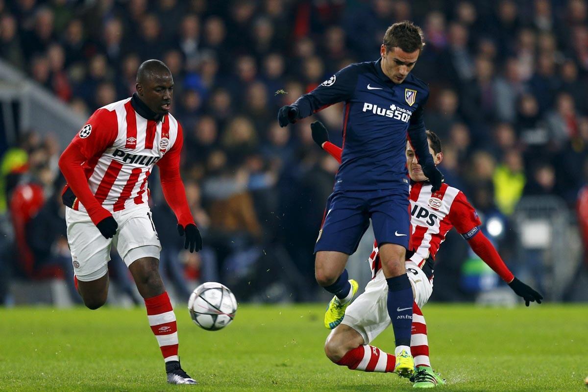 PSV-Atlético