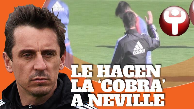 Antonio Sivera, portero de la cantera, no le dio la mano al técnico del Valencia