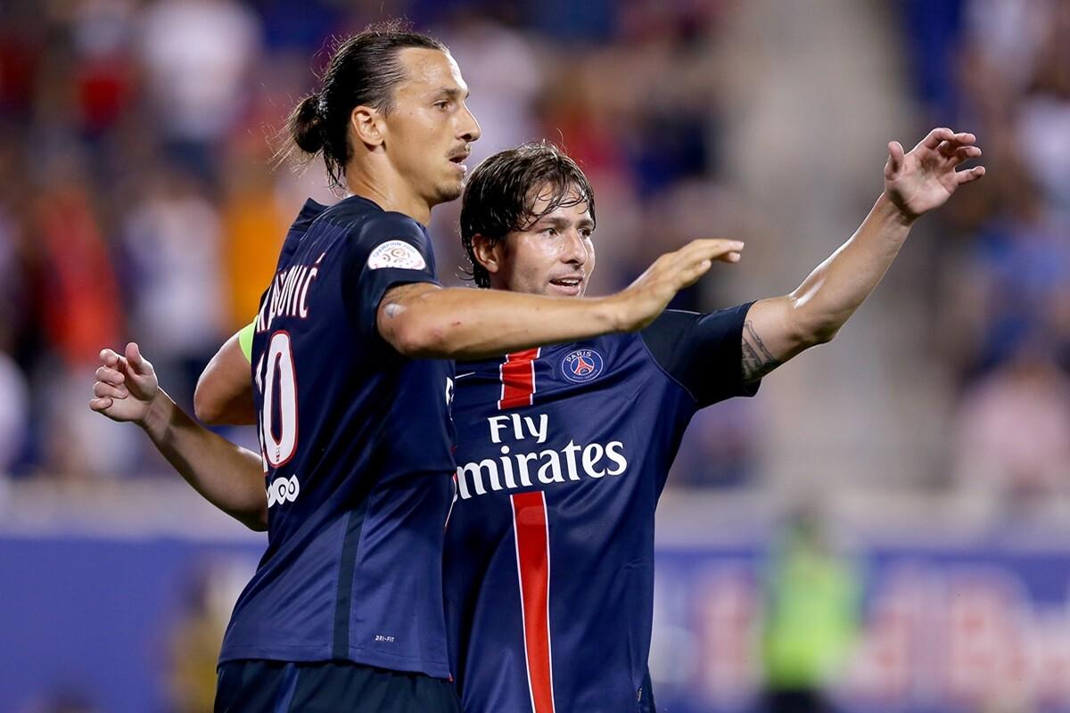 Ibrahimovic y maxwell, una carrera de compañeros y títulos en Ajax, Barcelona, Inter de Milan y PSG