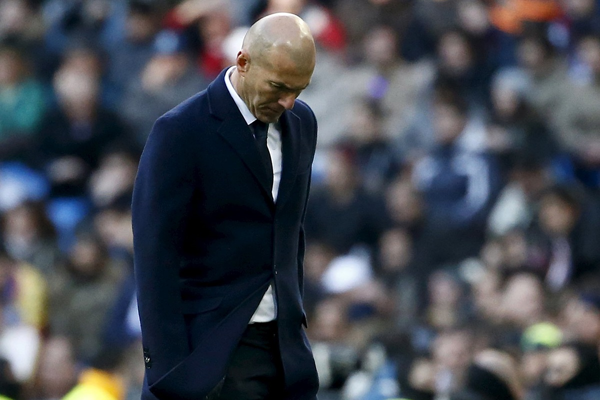 Zidane, dolido con sus jugadores según Abidal
