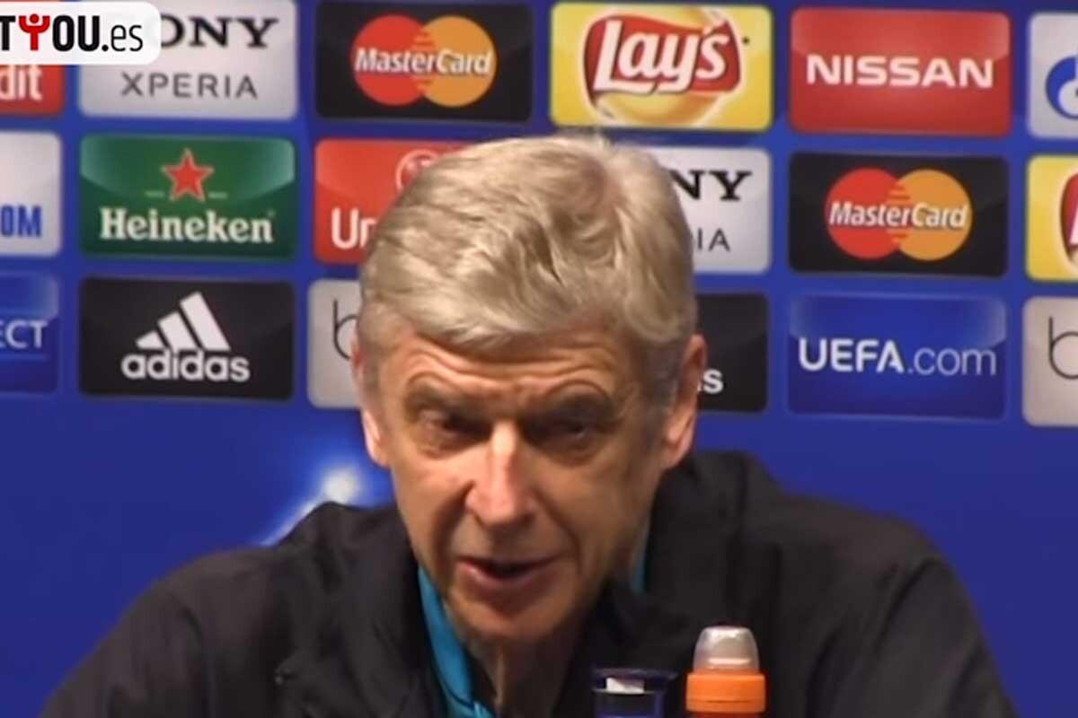 Wenger es el entrenador del Arsenal