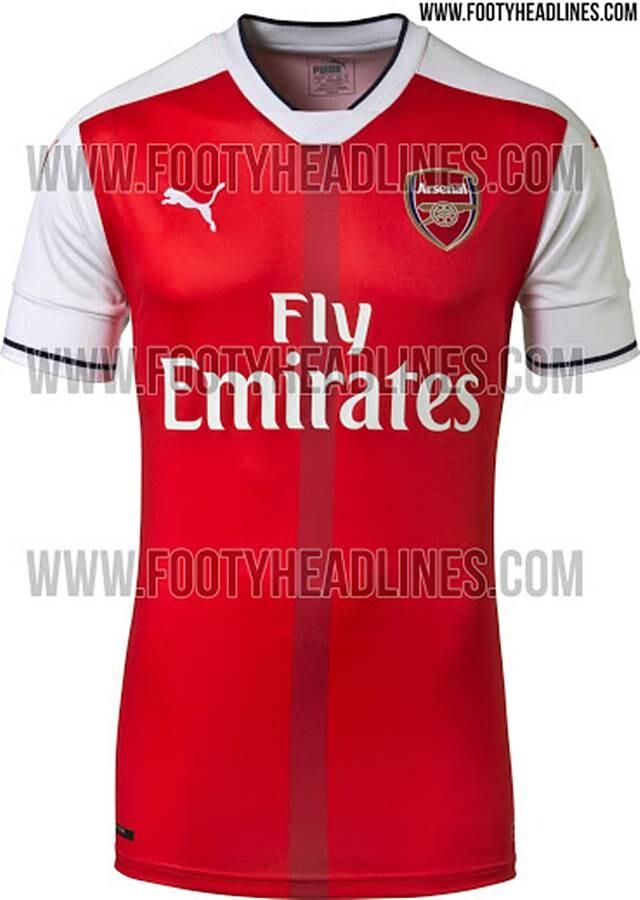 Arsenal equipacion 2016 17