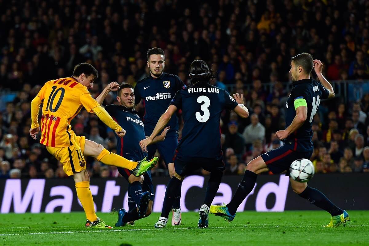 Barcelona Atletico Madrid, cuartos de final de Champions League