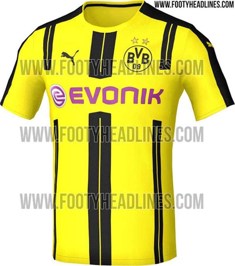 Equipacion Borussia Dortmund 2016 17