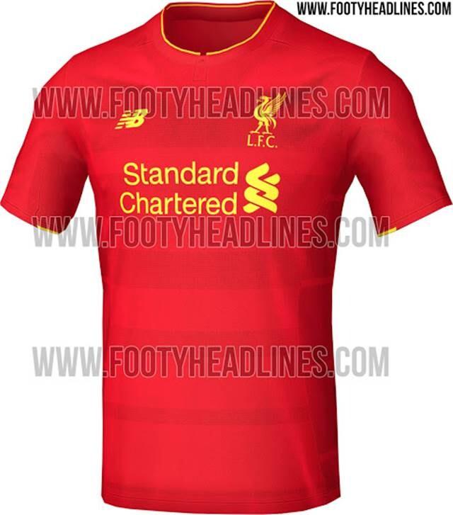 Equipacion Liverpool 2016 17