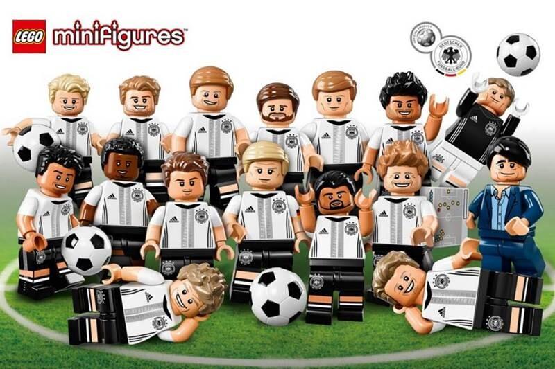 Lego seleccion alemana