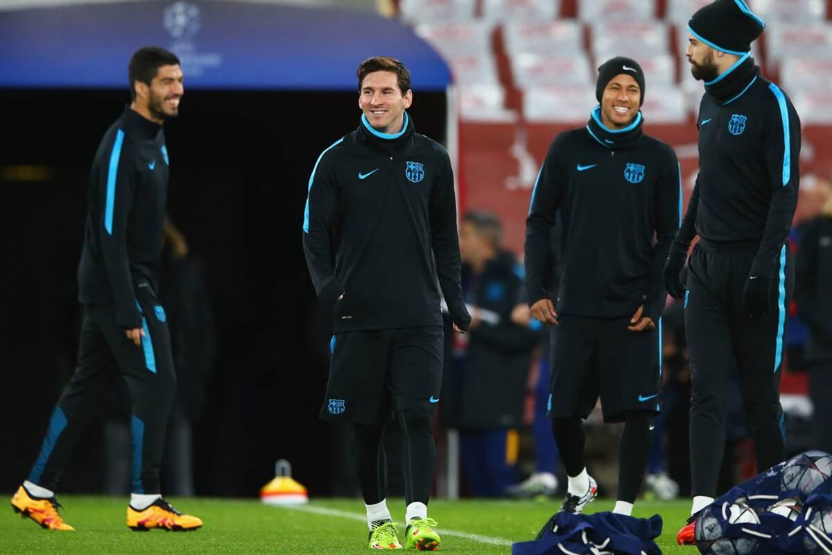 Messi, Neymar, Suarez y Pique, en la opinión 'ji, ji, ja, ja' del FC Barcelona tras perder con el Atlético de Madrid