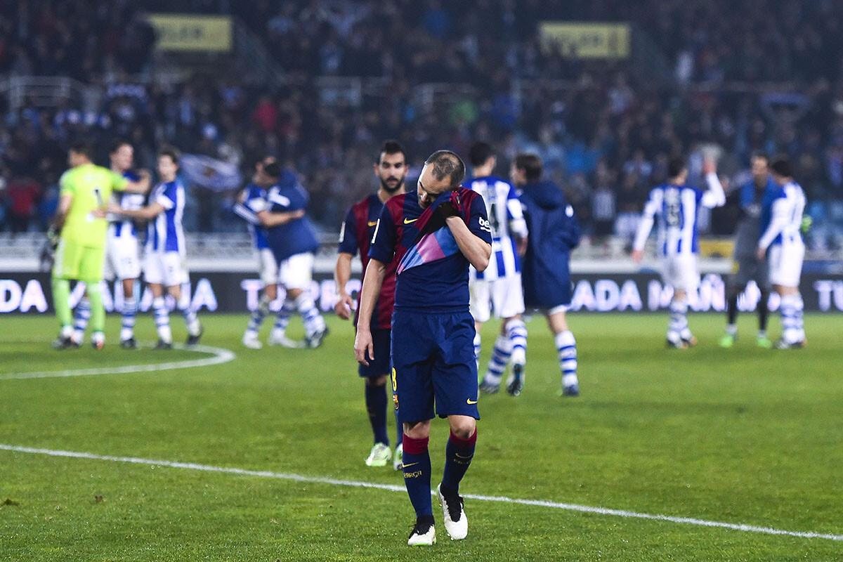 El Barça perdió en Anoeta