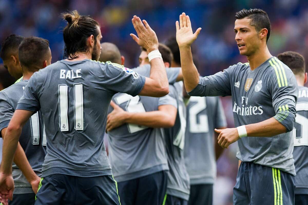 Gareth Bale y Cristiano Ronaldo