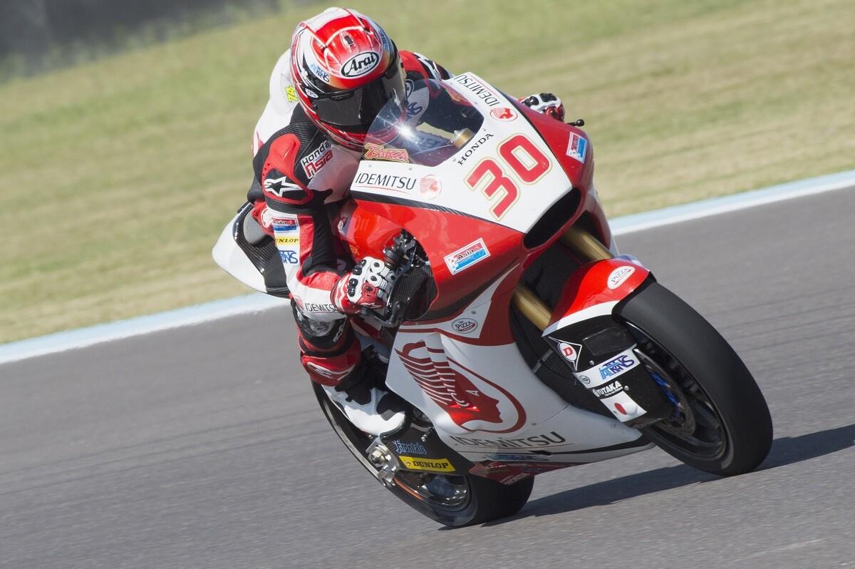 Nakagami, el más rápido del viernes en Moto2 y Binder en Moto3