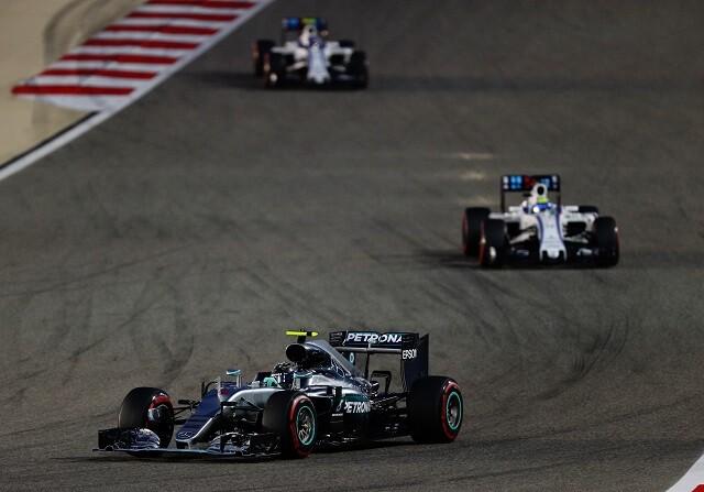 Nico Rosberg en el GP de Bahrein