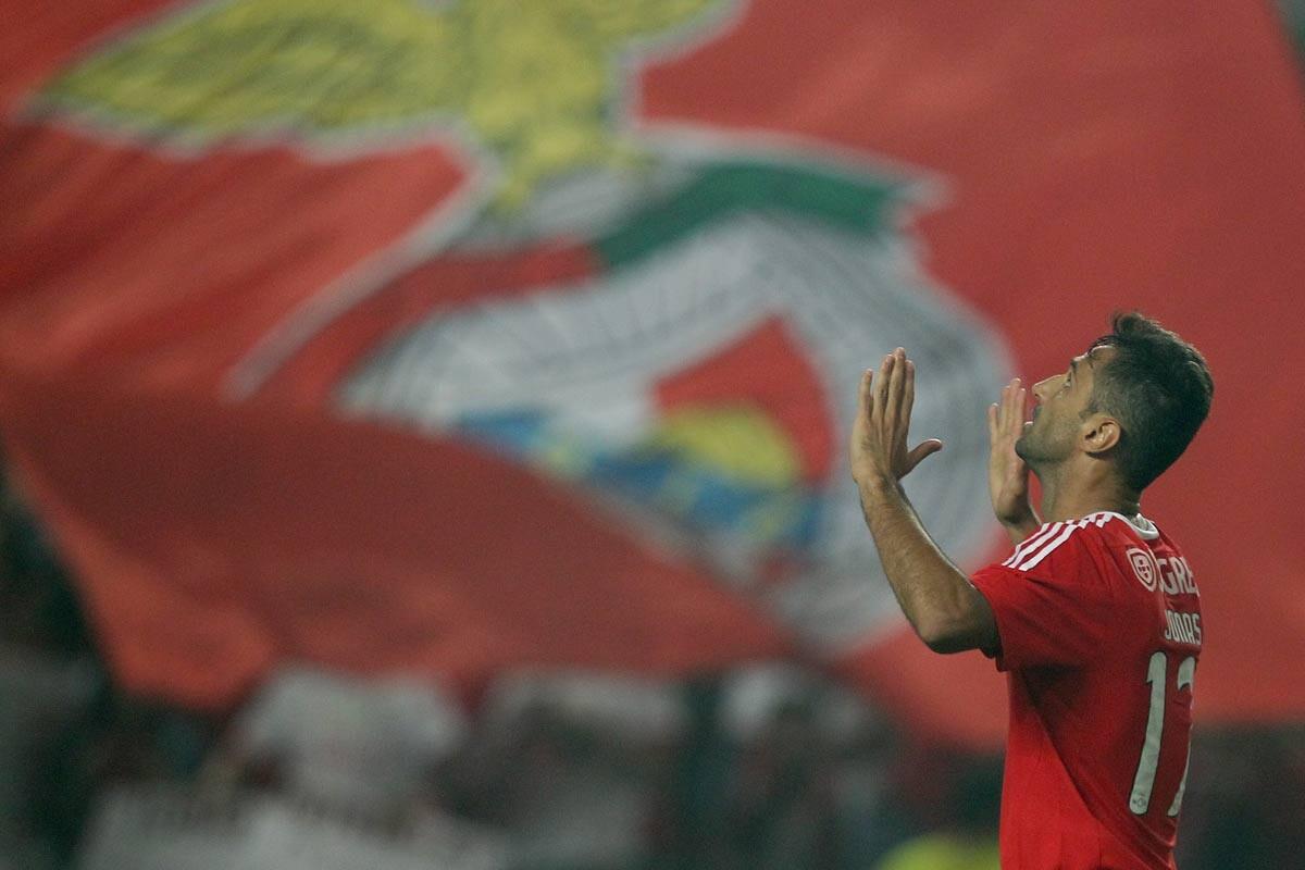 Jonas, jugados del Benfica