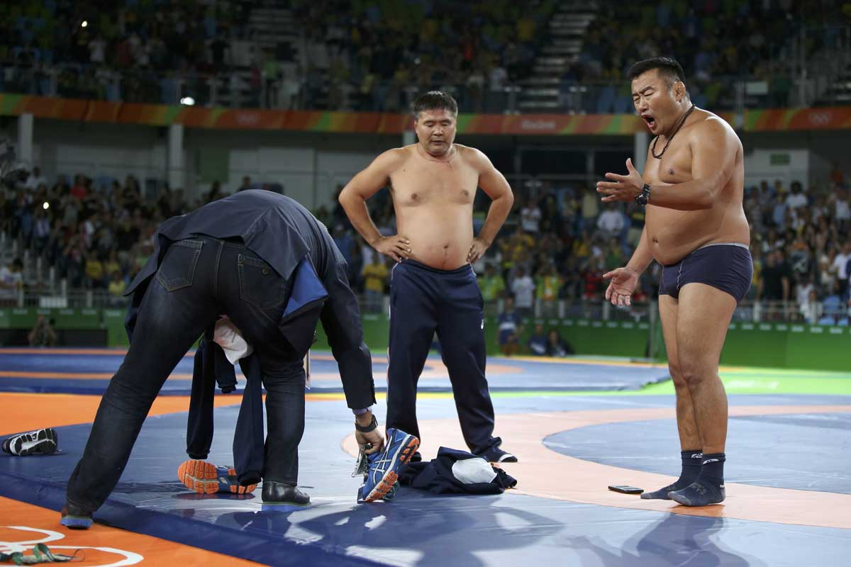 Entrenador Mongolia