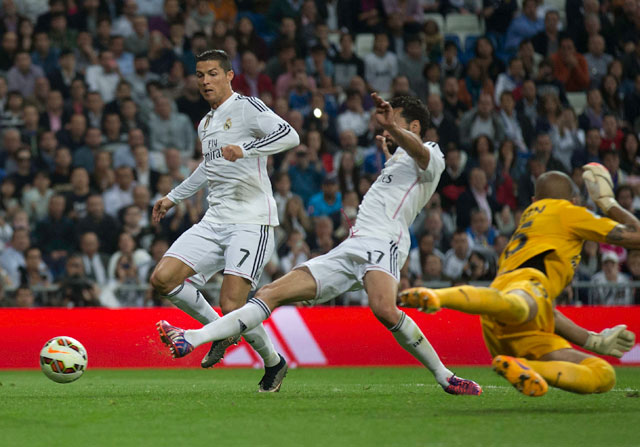 Arbeloa y Cristiano Ronaldo