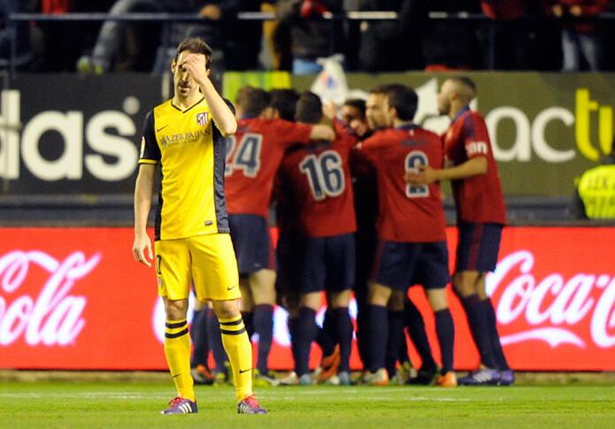 La pérdida de simetría del Atlético