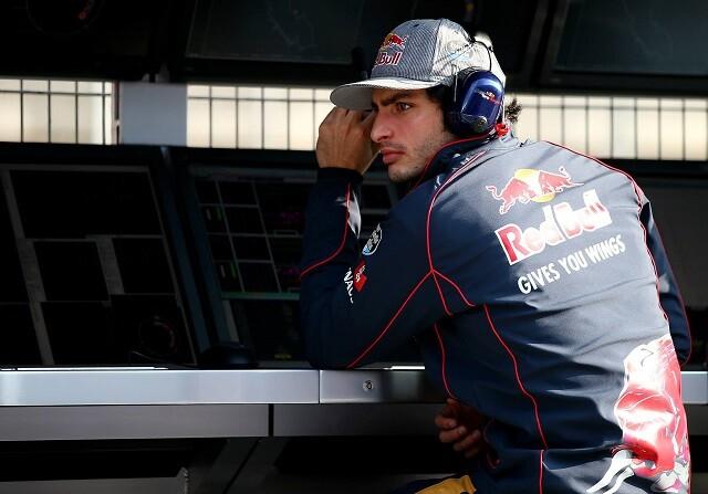 Carlos Sainz en los test de Barcelona