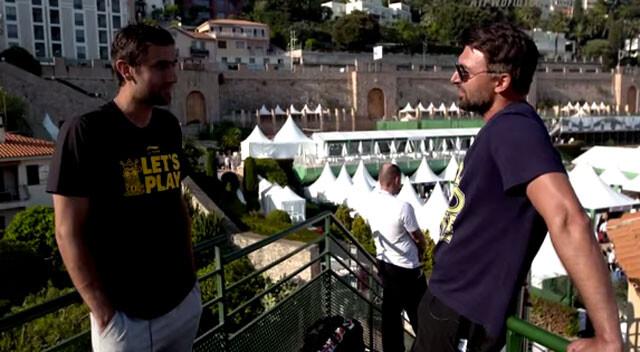Marin Cilic entrevista a su ídolo, Goran Ivanisevic
