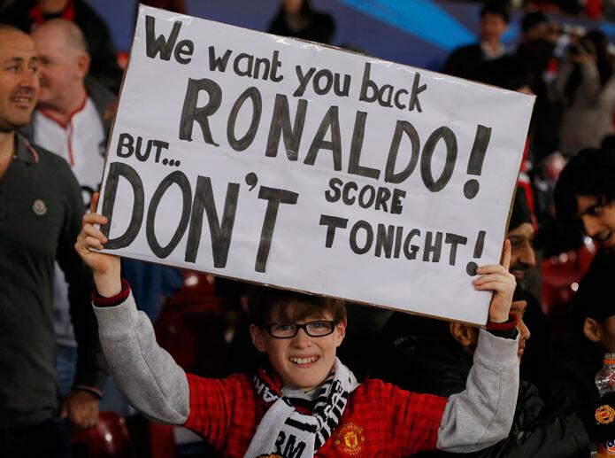 Old Trafford a Cristiano Ronaldo