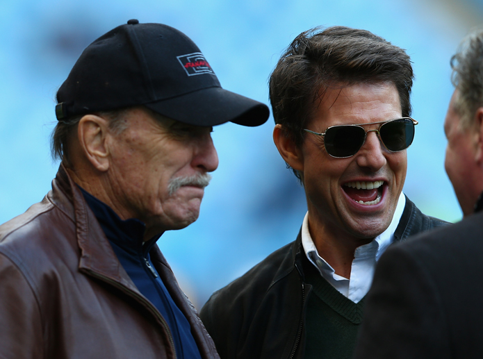 Tom Cruise y Robert Duvall
