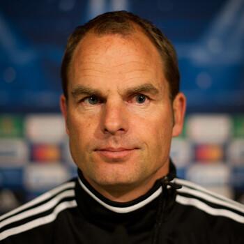 Frank de Boer, entrenador del Ajax