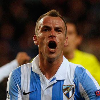 Duda, jugador del Málaga
