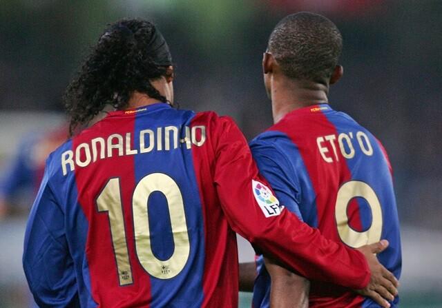 Eto´o y Ronaldinho