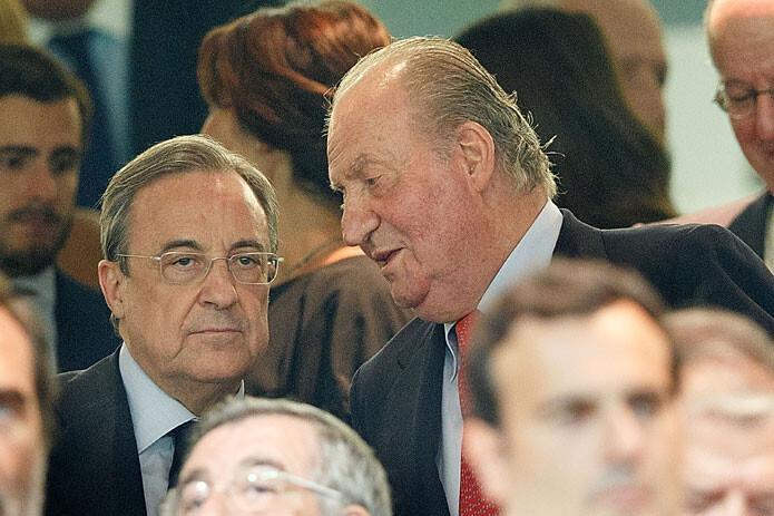 Florentino Pérez y el Rey