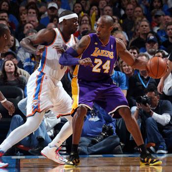 Oklahoma muestra su poder frente a los Lakers