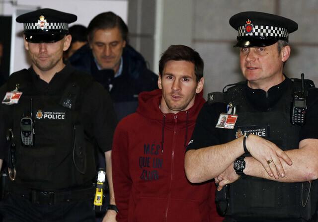 Messi policia