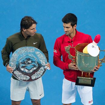 Novak Djokovic y Rafa Nadal