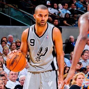 Parker, jugador de San Antonio Spurs