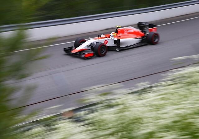 Roberto Merhi en el GP de Canadá