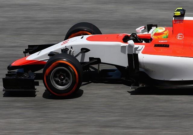 Roberto Merhi en el GP Malasia 2015
